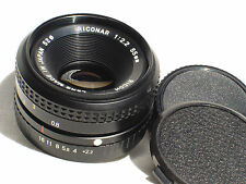PENTAX  K (PK) mount  fit RICOH RICONAR  55 mm F 2.2 lens SN235890