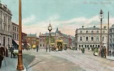the Bridge Walsall old pc used 1908 ? Valentines