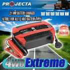 PROJECTA PC2100 12 VOLT 21AMP BATTERY CHARGER 6 STAGE AUTOMATIC GEL AGM SLA 12V