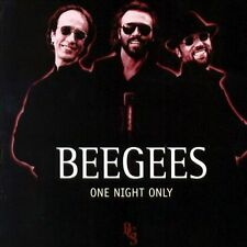 One Night Only by Bee Gees (CD, Jun-2006, Reprise) LIVE