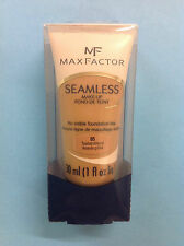 Max Factor Seamless Makeup No Visible Foundation Line TOASTED ALMOND #05 NEW.