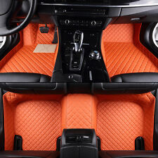 Carpet 8 Colors Car Floor Mats Leather Fantastic For Ford Edge 2007-2014 FS945