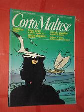 HUGO PRATT-CORTO MALTESE N°6-RARA-RIVISTA DEL 1985-MILANO LIBRI GIARDINO MOEBIUS