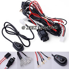Fog Light Relay Harness Wire Kit HID LED Lamp Worklamp Spot Work Driving Bar C13