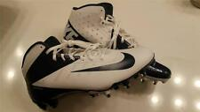 NEW Sz-16 Men's Nike Vapor Talon Elite Pro Mid 3/4 TD Football Cleats-Navy/White