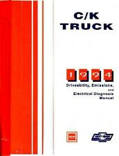 1994 Chevrolet GMC Truck Emissions Diagnostics Shop Service Repair Manual OEM