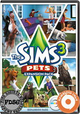 The Sims 3 Pets Expansion Pack (PC&Mac, 2011) Origin Download Region Free