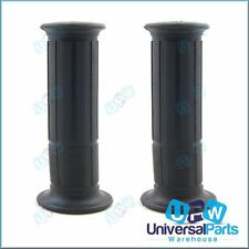 Universal Fat Black Rubber Handlebar Hand Grips Triumph Speed Triple