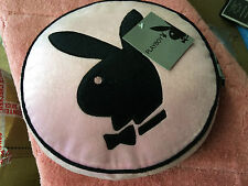 Pink black round Playboy cushion super soft feel brand new reduced to clear