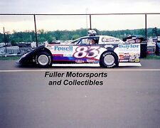 SCOTT JAMES 2006 #83 DIRT LATE MODEL CAR 8X10 PHOTO LAWRENCEBURG INDIANA