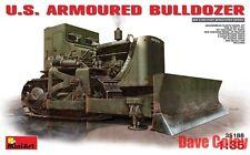 Nouveau mini art u.s blindé bulldozer wwii military miniatures série 1:35th échelle