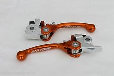 AIRTIME NEW FORGED BRAKE & CLUTCH LEVER SET KTM 450SX-F (2014-2016)-ORANGE(91)