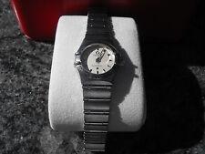 1562.30 Omega Constellation Ladies Prestige Silver Steel Swiss Quartz Mini Watch