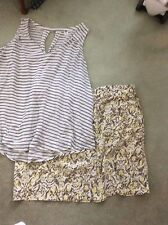 Women's Plus Size Outfit Size 2XL Eddie Bauer Skirt And Old Navy Top EUC