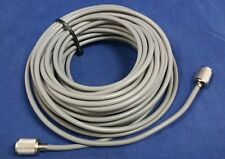 TRUE AMERICAN CABLE RG8X 96% SHIELDED 50FT COAX CABLE CB,HAM,SCANNER PL259'S