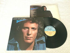 DON McLEAN BELIEVERS + INNER 1981 AUSTRALIAN RELEASE LP