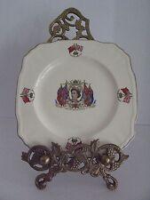 Souvenir /Commemorative Porcelain Plate ~June 1953 Coronation Queen Elizabeth II