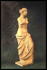 "36""x24"" Oil Painting on Canvas, Female Statue, Hand Painted"