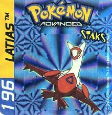 ≈Ω STAKS MAGNET POKEMON ADVANCED N° 196 LATIAS HOLO