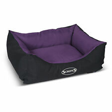 SCRUFFS EXPEDITION WATER RESISTANT DOG BOX BED - 90x70cm- largest one available