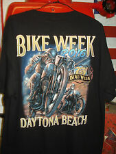 DAYTONA BIKE WEEK 2016 OFFICIAL T SHIRT (SIZE LARGE) WE ARE BASED IN THE UK