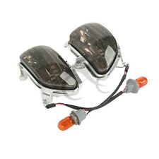 Front Smoke Turn Signal Lights For Honda Goldwing GL1800 2001-2014 08 09 10 11