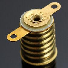 Straight Copper E10 Light Bulb Screw Base PCB Socket Lamp Holder for Lionel,BS