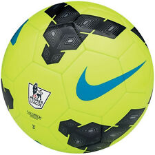 NIKE T90 Total 90 LEAGUE EPL  Soccer Ball  2013 NEW Volt / Black / Blue Size 3