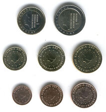 Holland 2012 - Set of 8 Euro Coins (UNC)