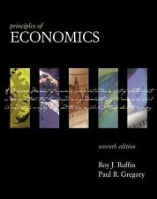 Principles of Economics by Roy J. Ruffin & Paul R. Gregory Hardcover Good as NEW
