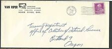 DATED 1948 COVER HOOD RIVER OR VAN RIPER FROZEN FOODS & COLD STORAGE LOCKERS