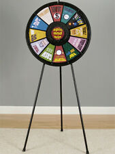 12 Slot Floor Stand Prize Wheel Game With Case Great For Trade Show Events