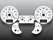 2003-2009 Porsche Cayenne Dash Cluster White Face Gauges 03-09