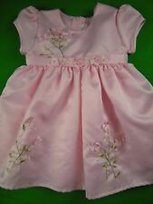 Girl sz 4 Pretty Pink Floral Party Flower Girl Wedding Dress ULTRA GIRL BOUTIQUE
