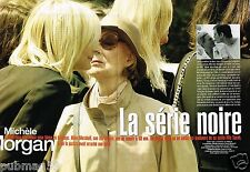 Coupure de Presse Clipping 2005 (8 pages) Michèle Morgan mort de Mike Marshall