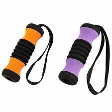 SALE 2 Cane Replacement Handle Grips, PURPLE & ORANGE for Offset Aluminum Canes
