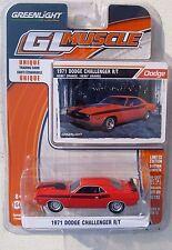 GREENLIGHT GL MUSCLE SERIES 13 1971 DODGE CHALLENGER R/T Hemi Orange