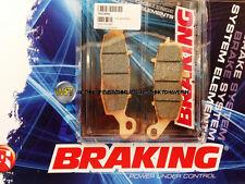 PER KAWASAKI ER5 500 2005 05 PASTIGLIE ANTERIORE SINTERIZZATE FRENO BRAKING CM55