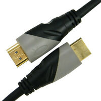 2m Highend HDMI Kabel Full HD 1080p Echt 3D V1.4High Speed-Full HDTV LCD TV PS3