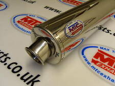 Honda CBR 400 GULL ARM stainless round ROAD LEGAL MTC Exhaust