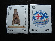 ITALIE - timbre yvert et tellier europa n°1940 1941 n** - stamp italy