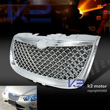 99-04 CHRYSLER 300M CHROME MESH STYLE FRONT HOOD GRILL BUMPER GRILLE