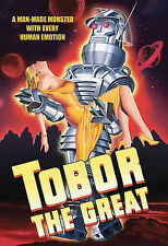 Tobor the Great, Acceptable DVD, Franz Roehn, Karin Booth, Billy Chapin, Taylor