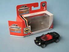 Matchbox Lotus Elise Black Body English Sports Toy Model Car Boxed