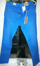 "TIMBERLAND LADIES JEANS W29"" SKINNY FIT TROUSER COLOURED CAMPANULA BLUE  RRP £79"