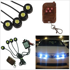 4x12W Wiredless Control Warning Strobe Flash Lights Car Emergency Grille LED DRL