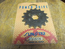 Sun Star Front Sprocket KDX200 KDX220 KDX250 YFM125 IT250 16T 3156