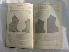 "VINTAGE 1920's WOMANS INSTITUTE ""DRESSMAKING & FINISHING"" NEEDLEWORK SEWING BOOK"