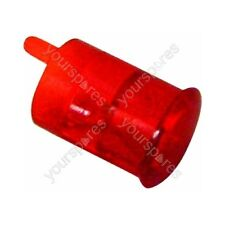 Genuine Indesit Red Neon Light Lamp Lens
