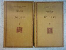 Escriptors Grecs,Idi-lis,Teocrit,Obra Completa 2 Tomos,F.Bernat Metge